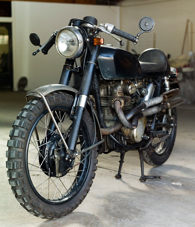 The Bike From The Girl With The Dragon Tattoo Zen