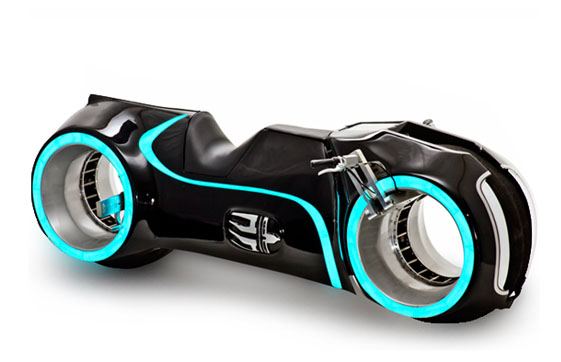 The Tron Motorcycle Can Be Yours