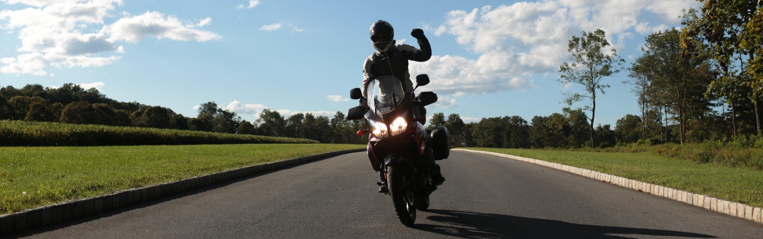 Zen Motorcyclist