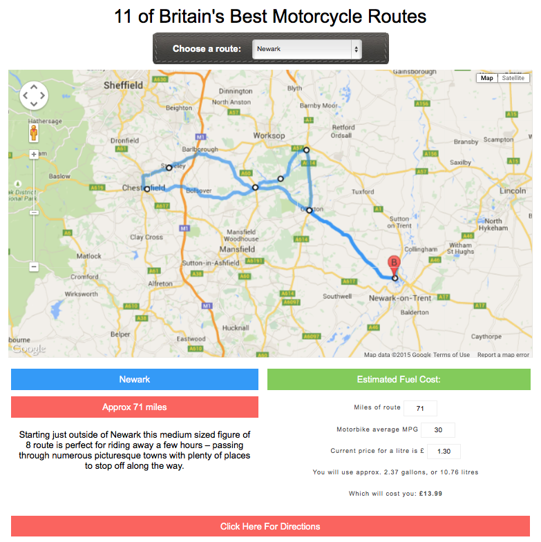 britains roads